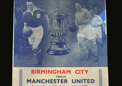 Man Utd v Birmingham 23.03.1957 (FA Cup Semi Final)