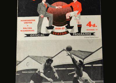 Man Utd v Bolton 25.03.1957