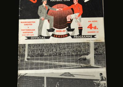 Man Utd v Spurs 06.04.1957