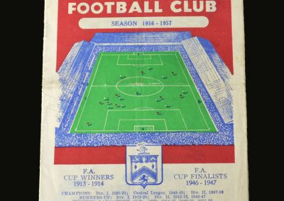 Man Utd v Burnley 19.04.1957