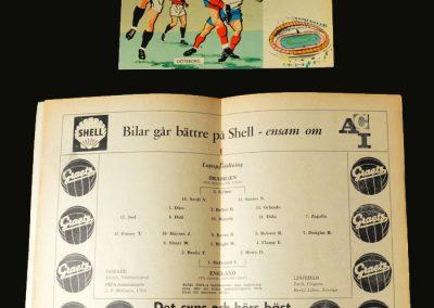 Brazil v England 11.06.1958