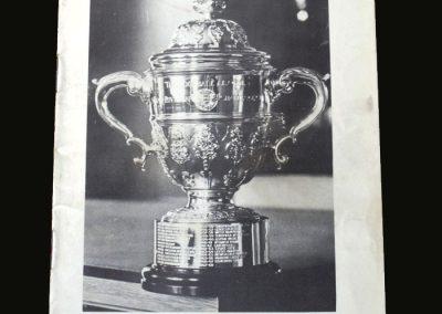Derby v Bristol 19.04.1969 (2nd Division Champions Souvenir)