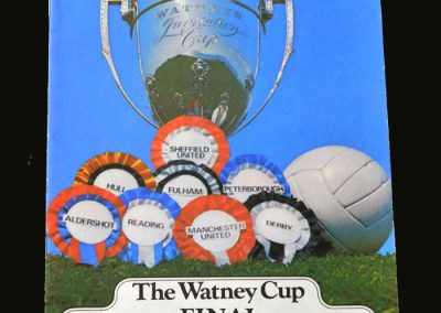 Derby v Man Utd 08.08.1970 (Watney Cup Final)