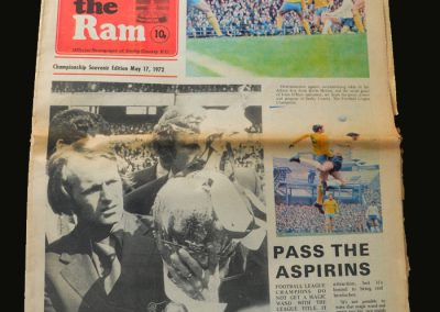 The Ram Championship Souvenir 17.05.1972