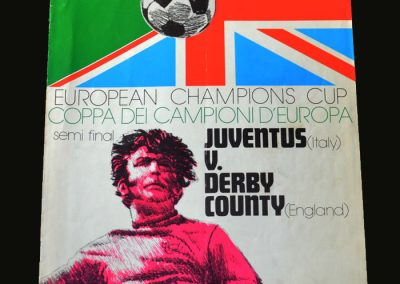 Juventus v Derby 11.04.1973 ( European Cup Semi Final 1st Round)