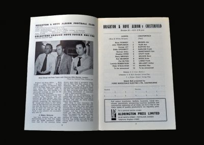 Brighton v Chesterfield 17.11.1973