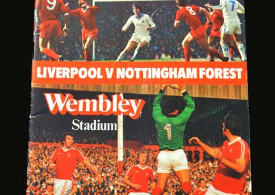 Forest v Liverpool 18.03.1978 (League Cup Final)