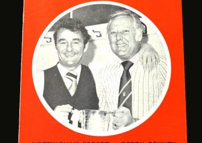 Forest v Derby 01.05.1978 (Clough & Taylor Testimonial)