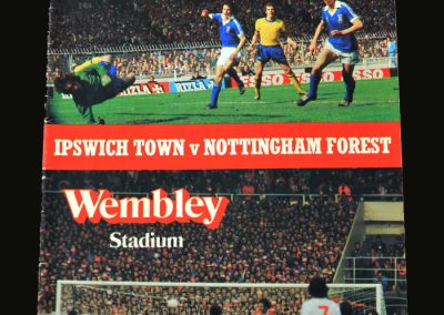 Forest v Ipswich 12.08.1978 (Charity Shield)