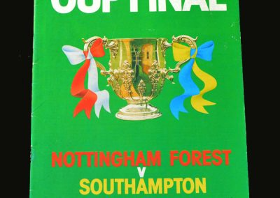 Forest v Southampton 17.03.1979 (League Cup Final)
