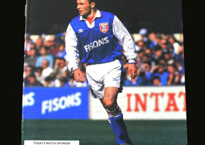 Ipswich v Forest 08.05.1993 (Last league game)