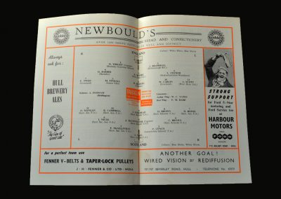 England v Scotland 01.03.1958 (Youth)