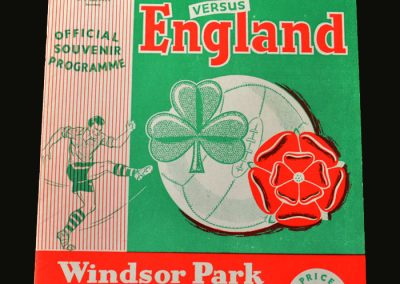 England v Northern Ireland 06.10.1956