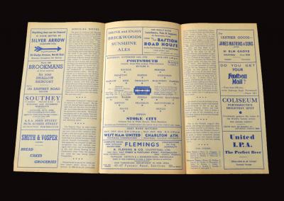 Portsmouth v Stoke 16.11.1946