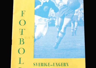 Sweden v Hungary 11.05.1955 (7 - 3)
