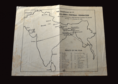 All India printed map 31.12.1937