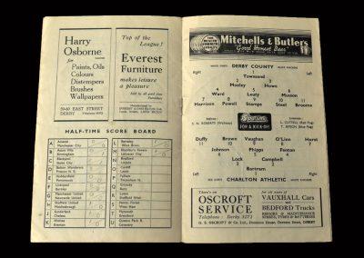 Charlton v Derby 04.12.1948