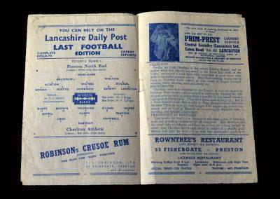 Charlton v Preston 27.12.1948
