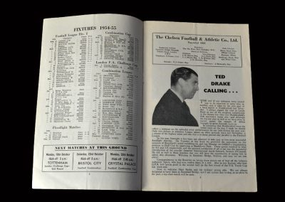 Chelsea v Man Utd 16.10.1954 (makes his debut against the Busby Babes and scores a hat-trick in a 6-5 defeat!)