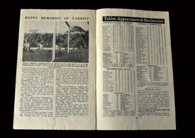 Cardiff v Chelsea 23.03.1955