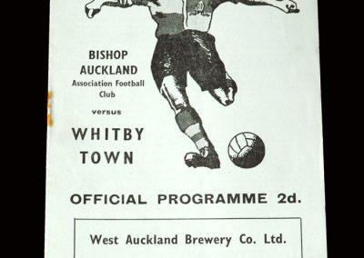 Bishop Auckland v Whitby 02.04.1955 (Seamus injured)