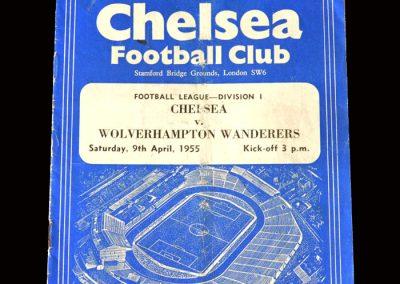 Chelsea v Wolves 09.04.1955 (1-0)