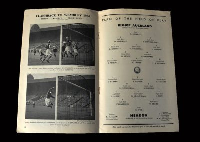 Bishop Auckland v Hendon 16.04.1955 16.04.1955 (Amateur Cup Winners)