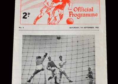 Man Utd Reserves v West Brom Reserves 07.09.1963