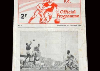 Man Utd Reserves v Man City Reserves 02.10.1963