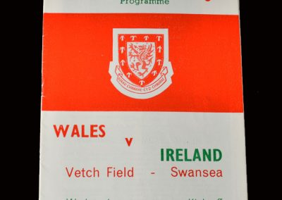 Wales v Northern Ireland 15.04.1964 (International Debut)