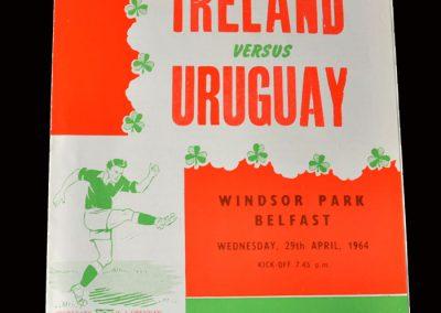 Northern Ireland v Uruguay 29.04.1964