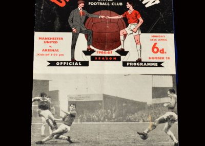 Man Utd v Arsenal 26.04.1965