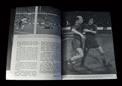 Man Utd v Estudiantes 16.10.1968 (inc souvenir photos)