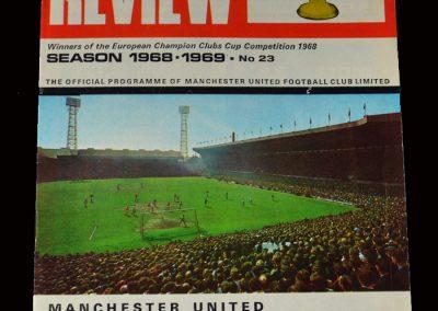 Man Utd v QPR 19.03.1969 (8-1)