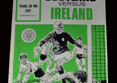 Scotland v Northern Ireland 06.05.1969
