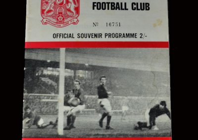 Northampton Town v Man Utd 07.02.1970 (FA Cup 5th Round - returns& scores six in an 8-2 win)