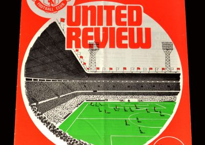 Man Utd v Coventry 15.12.1973