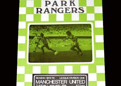 QPR v Man Utd 01.01.1974 (last game)