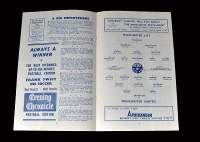 Man City v Man Utd 20.09.1947
