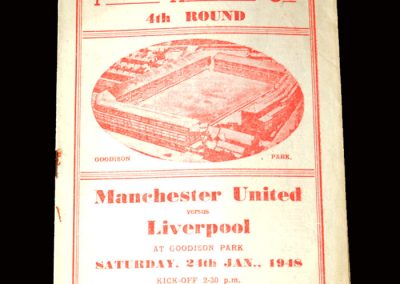 Man Utd v Liverpool 24.01.1948 (FA Cup 4th Round at Goodison Park)