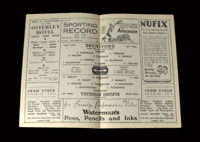 Brentford v Spurs 20.03.1948