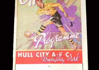 Hull v York 03.04.1948
