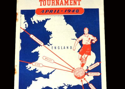 International Youth Tournament 16/17.04.1948