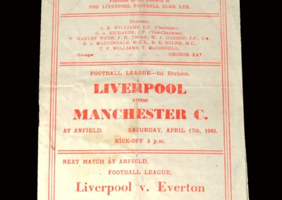 Liverpool v Man City 17.04.1948
