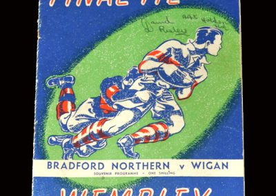 Bradford Northern v Wigan 01.05.1948 (Rugby League Final)