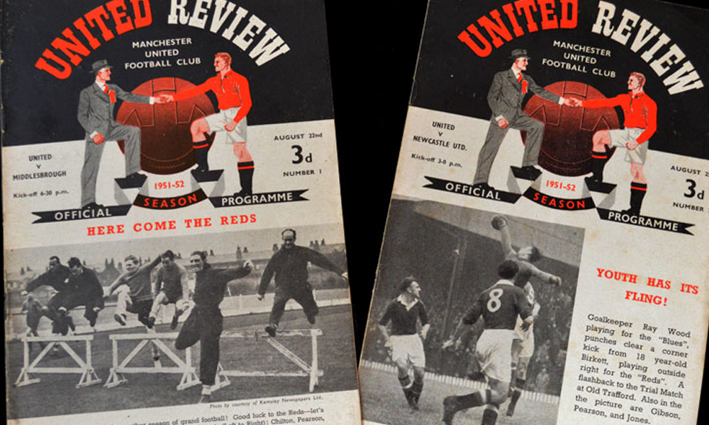 Forged Football Programmes