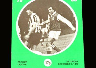Hibs v Partick Thistle 01.12.1979
