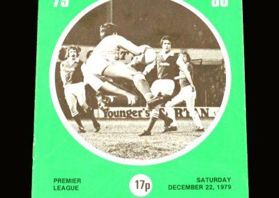 Hibs v Rangers 22.12.1979