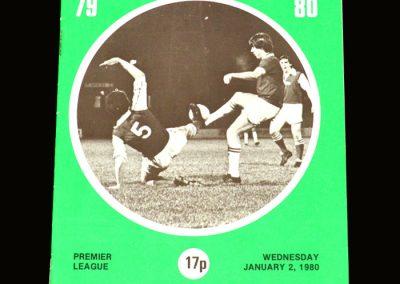 Hibs v Dundee 02.01.1980