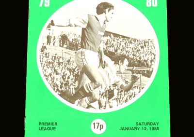 Hibs v Celtic 12.01.1980